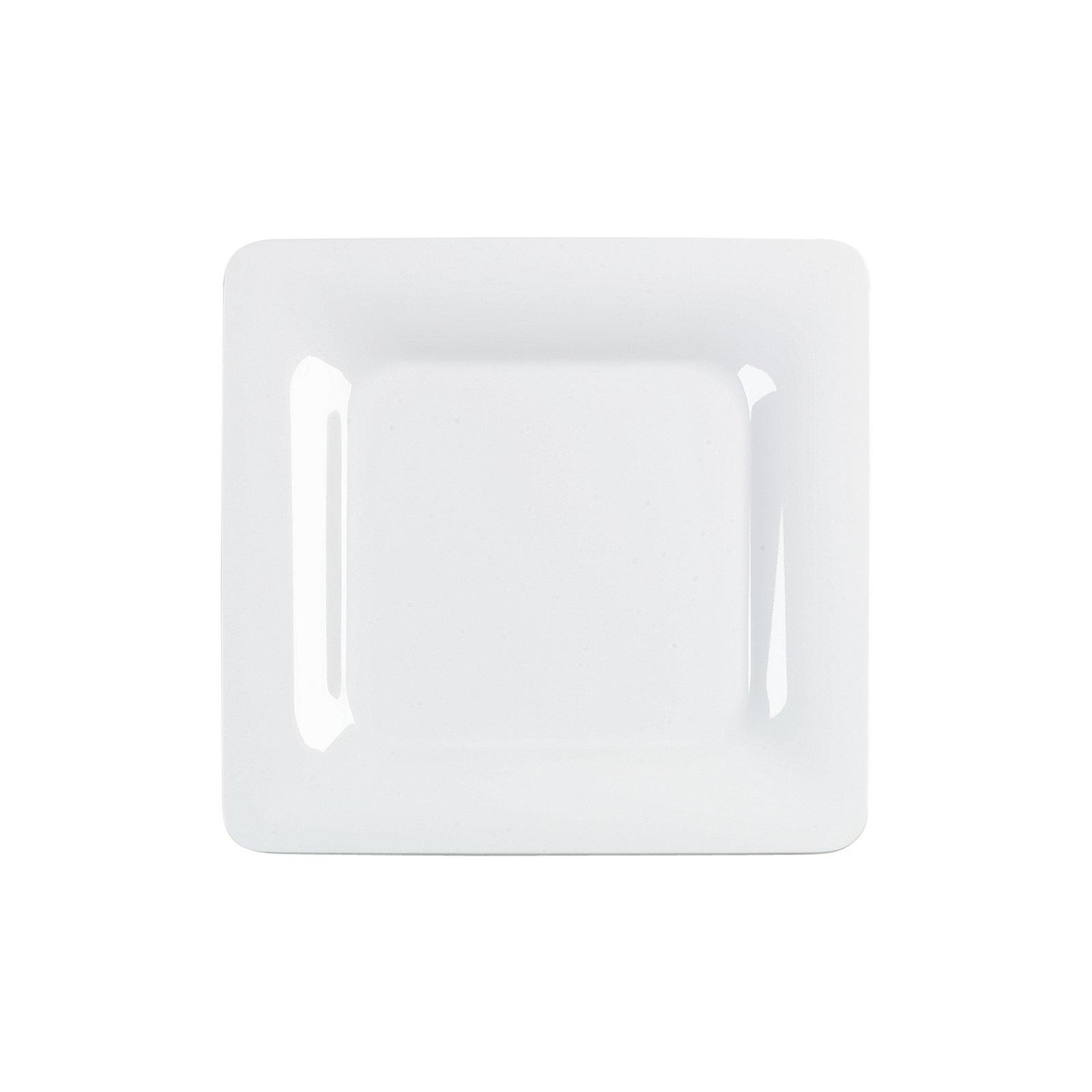 """4440002 - Designer Displayware™ Wide Rim Square Plate 12"""" - White ... for Square Plate Designs  8lpfiz"""
