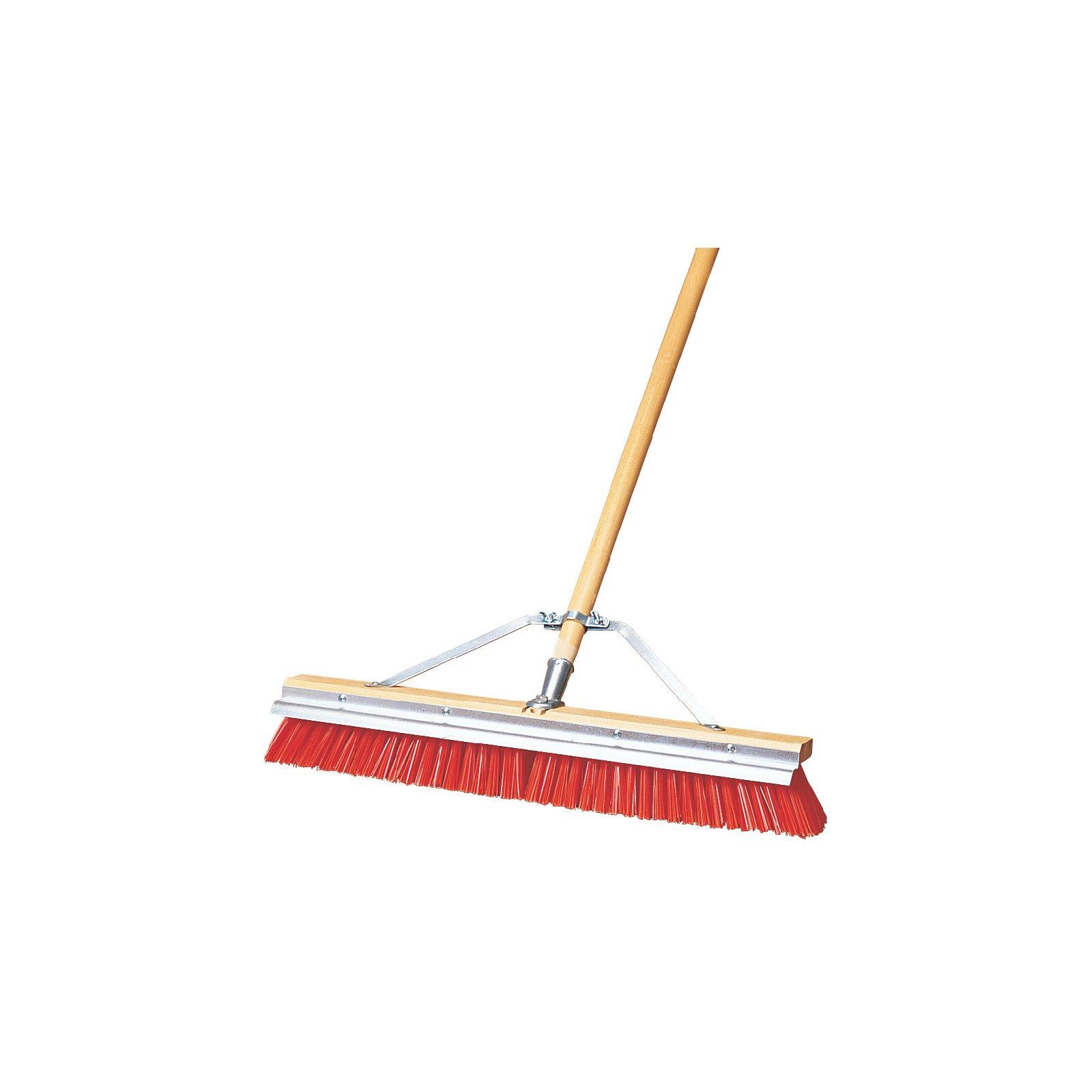 36952424 Flo Pac 174 Polypropylene Sweep With Steel Scraper
