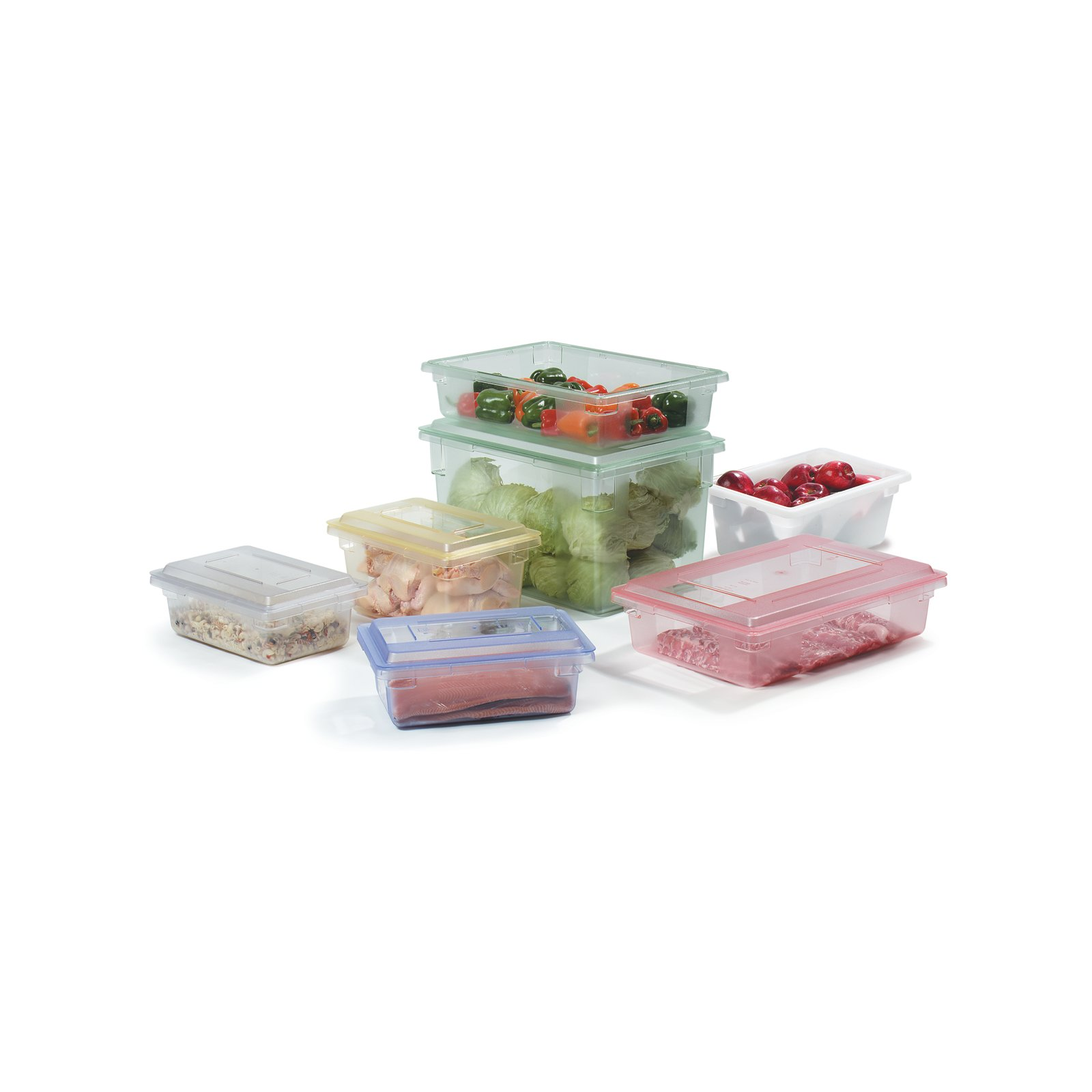 10622C05 StorPlus Color Coded Food Box Storage Container 125