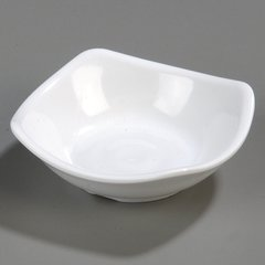7940 3-1/2\  Small Square Dish Available in 2 colors & Small Plates | Carlisle FoodService Products