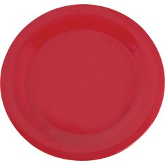 4300202 Durus Melamine Narrow Rim Dinner Plate 10 5 White Carlisle Foodservice Products