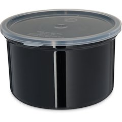 Carlisle Classic Crock w/Lid 1.5 qt Black 031603 Case of 6
