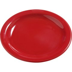 "Carlisle Melamine Bread & Butter Plate 5.5"" Red 4385605 Case of 48"