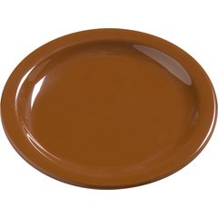 "Carlisle Melamine Bread & Butter Plate 5.5"" Toffee 4385643 Case of 48"