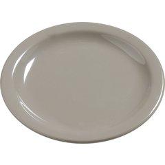 "Carlisle Melamine Bread & Butter Plate 5.5"" Truffle 4385631 Case of 48"