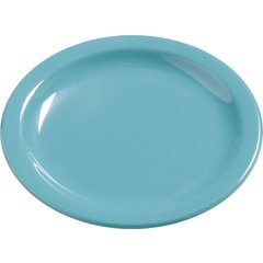 "Carlisle Melamine Bread & Butter Plate 5.5"" Turquoise 4385663 Case of 48"