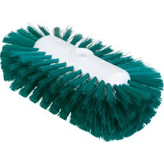 "Carlisle 4004309 Sparta Tank & Kettle Brush 5.5"" x 9"" Green Case of 12"