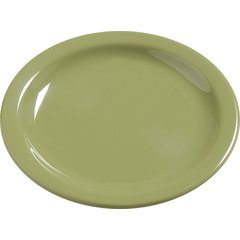 "Carlisle Melamine Bread & Butter Plate 5.5"" Wasabi 4385682 Case of 48"