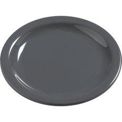 "Carlisle Melamine Bread & Butter Plate 5.5"" Peppercorn 4385640 Case of 48"