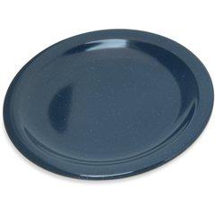 "Carlisle Melamine Bread & Butter Plate 5.5"" Cafe Blue 4350535 Case of 48"