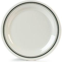 """Carlisle Melamine Dinner Plate Narrow Rim 10.5"""" Orleans 43003905 Case of 12"""