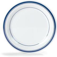 "Carlisle Melamine Dinner Plate Narrow Rim 10.5"" London 43003912 Case of 12"