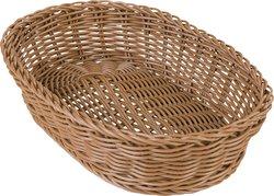 655125 Woven Baskets Oval Basket 11 5 Caramel Carlisle Foodservice Products