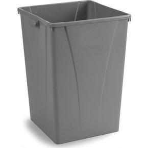 34395023 - Centurian™ Square Waste Container Trash Can 50 Gallon - Gray