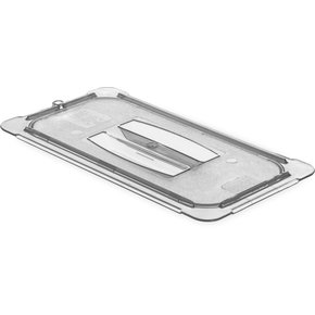 10470U03 - StorPlus™ Univ Lid - Food Pan HH Handled 1/3 Size  - Black