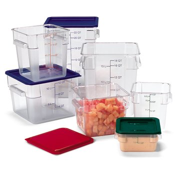 StorPlus™ Square Food Storage Containers