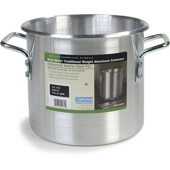 Traditional Weight Aluminum Stock Pot