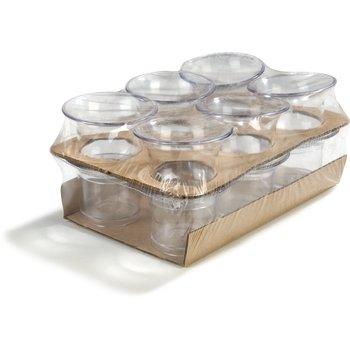 SAN Ramekin and Sauce Cup Shrink Wrap Packs