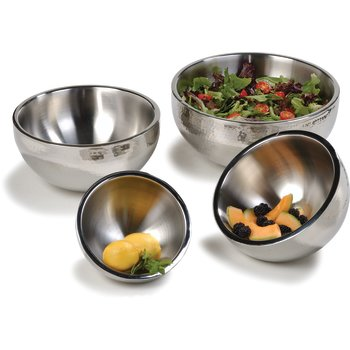 Double-Wall Stainless Steel Displayware