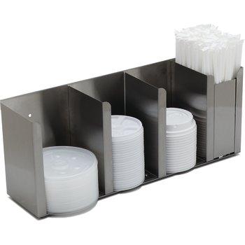 Counter Top Lid & Straw Dispenser