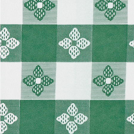 "51515252SM064 - Classic™ Series Tablecloth Check 52"" x 52"" - Forest Green"