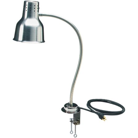 "HL8185C00 - FlexiGlow™ Single Arm Heat Lamp, Includes Clamp 24"" - Aluminum"