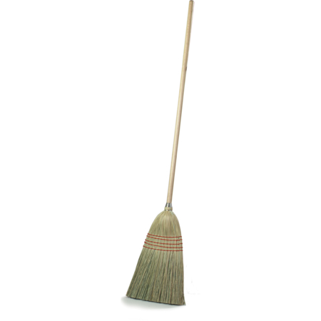 "4135200 - Flo-Pac® Corn Parlor Broom 55"" Long - Corn"