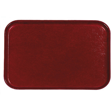 "2216FGQ97030 - Glasteel™ Tray 22"" x 16"" - Cherry Red"