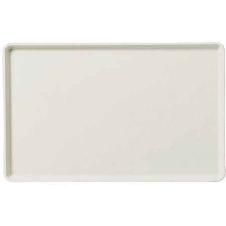 "1418LFG001 - Glasteel™ Solid Low Edge Tray 18"" x 14"" - Bone White"