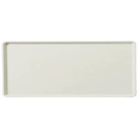 "1219LFG001 - Glasteel™ Solid Low Edge Tray 19"" x 12"" - Bone White"