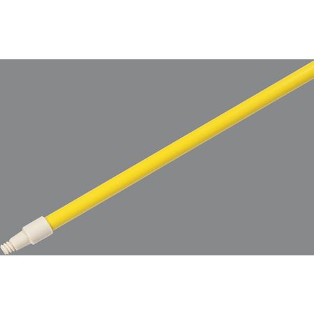 "4122504 - Spectrum® 48"" Fiberglass Handle with Self Locking Flex™ Tip 1"" Dia - Yellow"