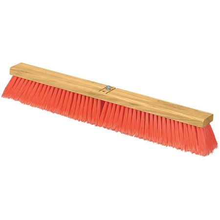 "3610223624 - Flo-Pac® Juno Style Polypropylene Sweep w/Heavy Polypropylene Center 36"" - Orange"