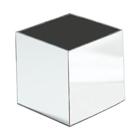 "SMMC823 - MirAcryl™ Mirror Cube 7-9/16"" - Mirrored"
