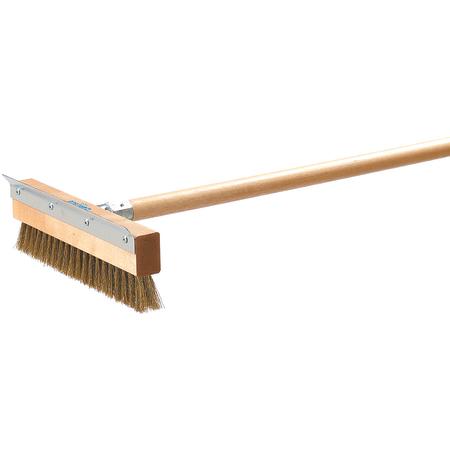 """4029300 - Pizza Oven Brush w/Scraper (Head Only) 10"""""""