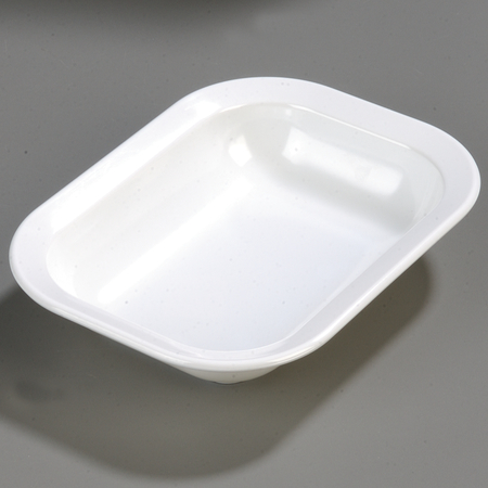 4374502 - Melamine Rectangle Baker Server 28 oz. - White