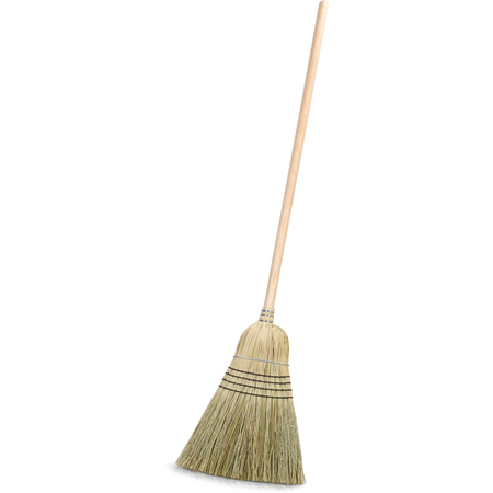"4135467 - 5-Stitch Warehouse (#30) - Blended Corn Broom 56"" - Natural"