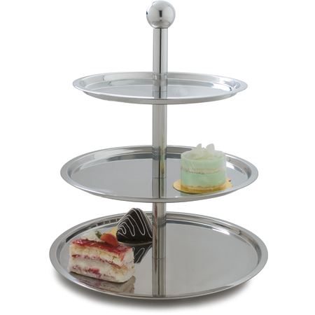 609170 - Allegro™ Three Tier Display Stand 15-3/4""