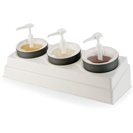 CM105802 - Coldmaster® Crock & Organizer Condiment Set  - White