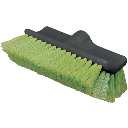 "36129775 - Flo-Thru Dual Surface Wash Brush with Nylex Bristles 10"" - Green"