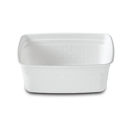 DXHH20 - Rectangular Soup Bowl 8 oz. (1000/cs) - White