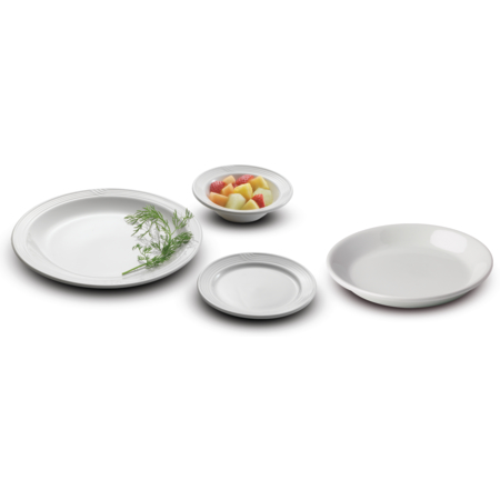 "DX5CBPB02 - Dinet® Bread & Dessert Plate 5-1/2"" (36/cs) - White"