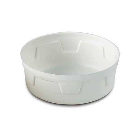 DXHH27B - Round Soup Bowl (for Aladdin B27) (Aladdin is a registered trademark of Temp-Rite, L.L.C.) 6 oz (1000/cs) - White