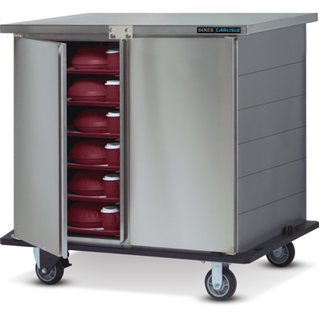 DXTS1T2D3C21 - Three Bay, 1 Tray Per Slide, 2 Door  (1/cs) - Stainless Steel