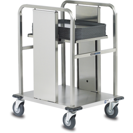 "DXIDT1S1520 - Open Single Solid Shelf 15-3/4"" x 20-3/4"" Max Tray - Stainless Steel"