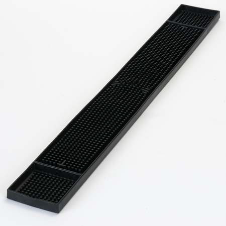 "1060203 - Bar Mat 3.25"" x 26.75"" - Black"
