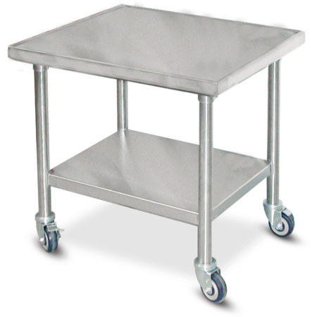 """DXICTABLEM - Table for Induction Charger 30""""L x 24""""D - Stainless Steel"""