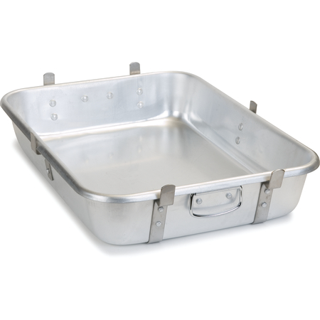 "60345 - Roast Pan 28qt. (Use as Base) 24"" x 18"" x 4.5"" - Aluminum"