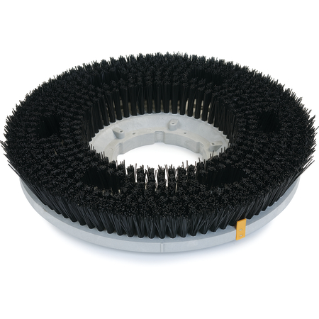 "361600N32-5N - Colortech™ Nylon General Scrubbing Heavy Brush 16"" - Black"