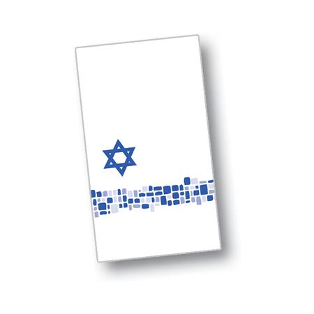 "DXHS722DN01 - Shalom Design Dinner Napkin 15"" x 17"" (100/pk)"