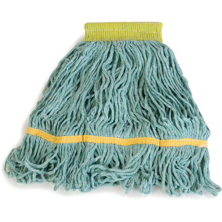 369472B09 - Flo-Pac® Small Looped-End Mop With Yellow Band - Green